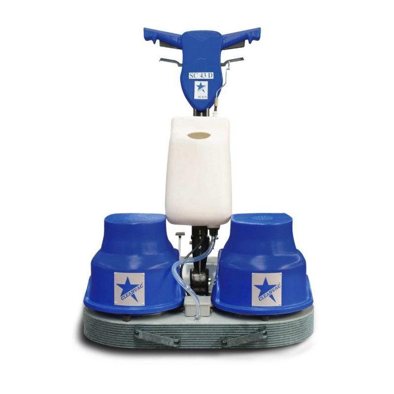 çift fırçalı halı yıkama makinası