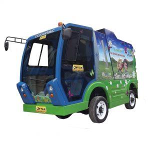 elektrikli çöp toplama aracı