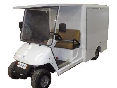 kapalı kasalı golf arabası