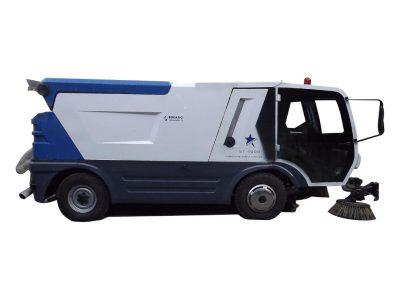 vakumlu yok süpürme makinası