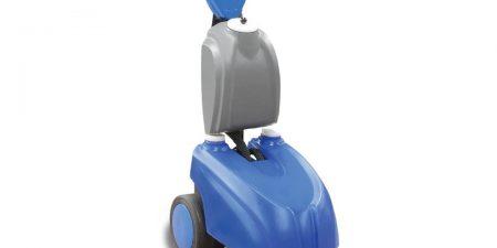 akülü yer temizleme makinası