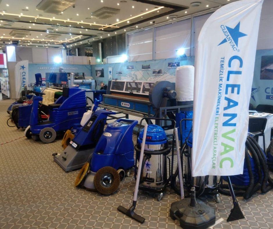 endüstriyel temizlik makinaları
